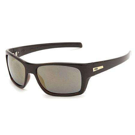 Óculos de Sol HB Monster Fish Black Havana l Gold Chrome