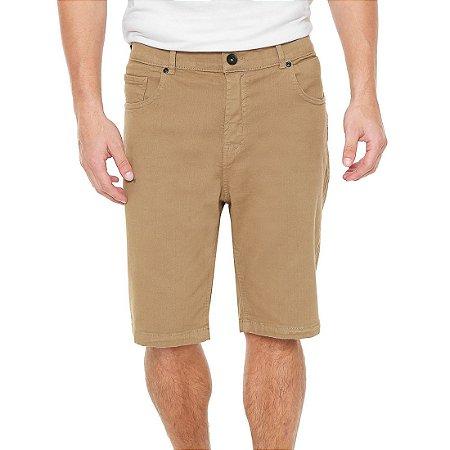 Bermuda Quiksilver Jeans Street Color Caqui