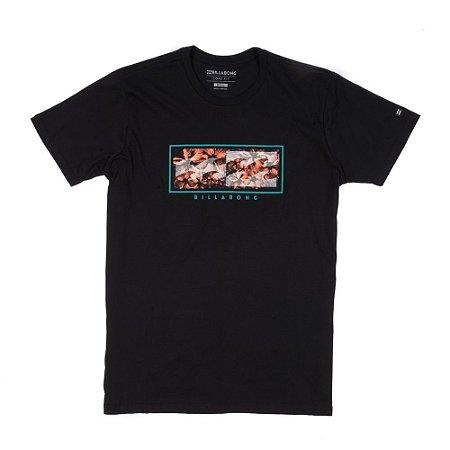 Camiseta Billabong Inverse Preta