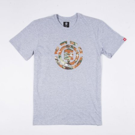 Camiseta Element Sawtooth Cinza