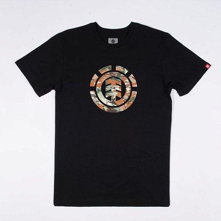 Camiseta Element Sawtooth Preta