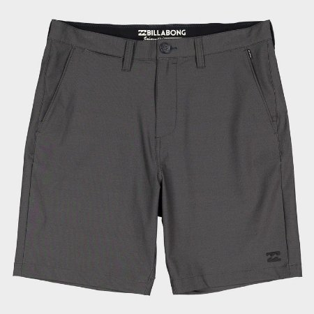 Bermuda Billabong Walk All Day Solid Cinza