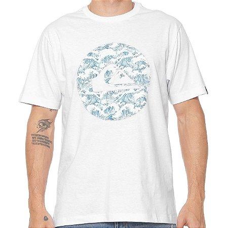 Camiseta Quiksilver Filtro Branca