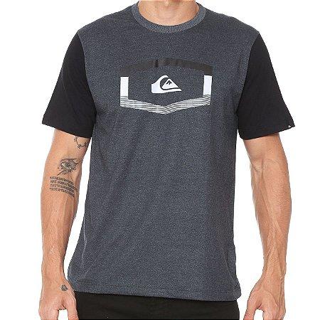 Camiseta Quiksilver Tripple Preta