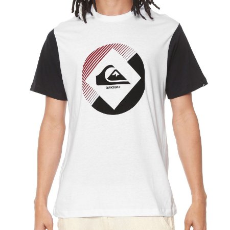 Camiseta Quiksilver Second Branca