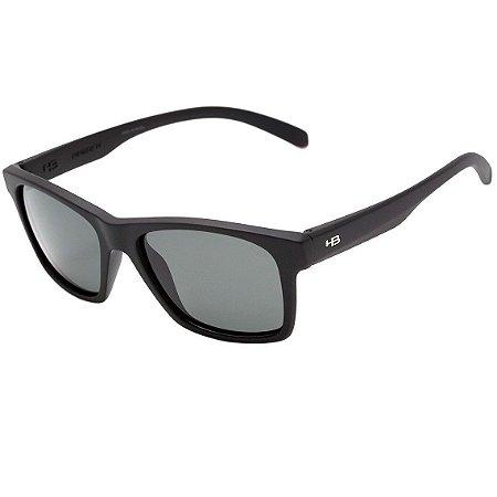 Óculos de Sol HB Unafraid Matte Black | Polarized Gray