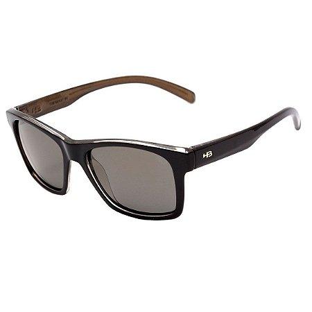 Óculos de Sol HB Unafraid Black Gold | Polarized Bronze
