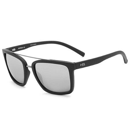 85bfcf690 Óculos de Sol HB Spencer Matte Black | Silver - Radical Place - Loja ...