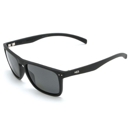 Óculos de Sol HB Cody Matte Black I Polarized Gray