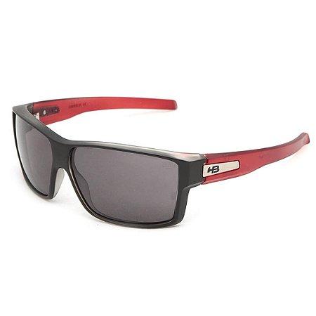 5c710ff2dafd6 Óculos de Sol HB Big Vert Matte Black   Clear Red