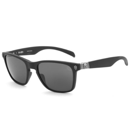 0a1fa9a752c21 Óculos de Sol HB Skull Matte Black S. Aged Silver - Radical Place ...
