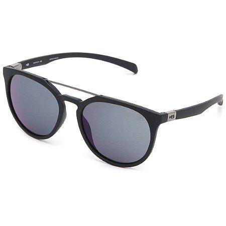 Óculos de Sol HB Burnie Matte Navy | Blue Chrome