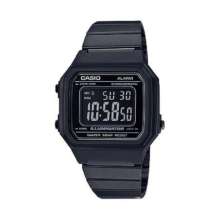 7ea26da5723 Relógio Casio Vintage B650WB-1BDF Preto - Radical Place - Loja ...