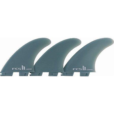 Quilha FCS II Carver Média Glass Flex Verde