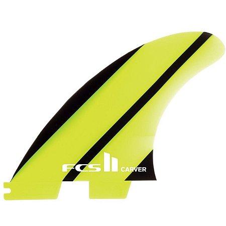 Quilha FCS II Carver Média Neo Glass Verde