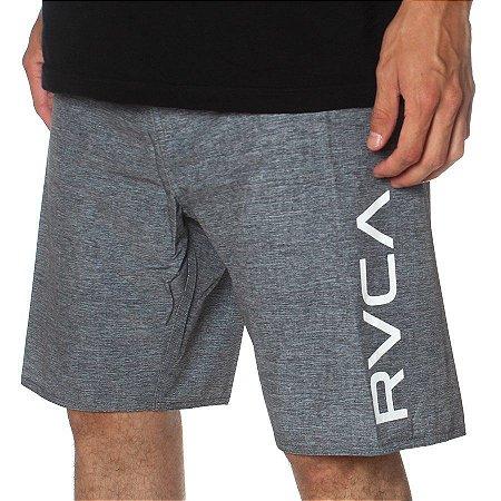Bermuda RVCA Boardshort Big RVCA Cinza Escuro