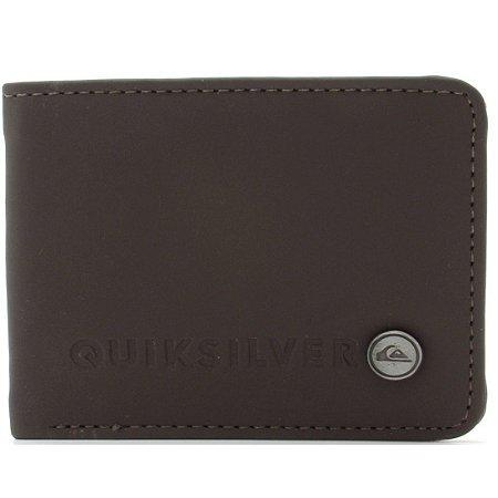 Carteira Quiksilver Stitchy Wallet III Marrom