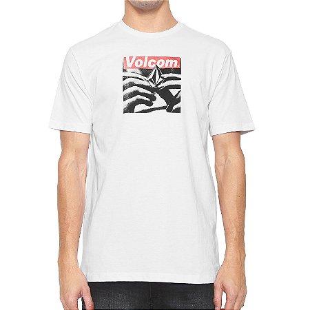 Camiseta Volcom Silk Reload Branca