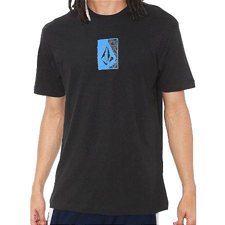 Camiseta Volcom Silk Half Stone Preta