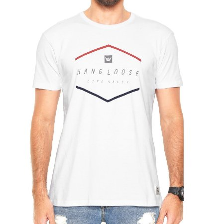 Camiseta Hang Loose Silk Blancolor Branca