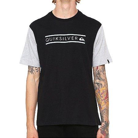 a94860962c2b5 Camiseta Quiksilver Schwack Preta - Radical Place - Loja Virtual de ...