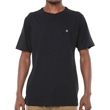 Camiseta Hurley Silk Incon Preta