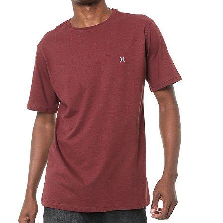 Camiseta Hurley Silk Incon Vinho