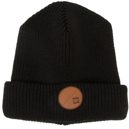 Gorro Hang Loose Leather Preto