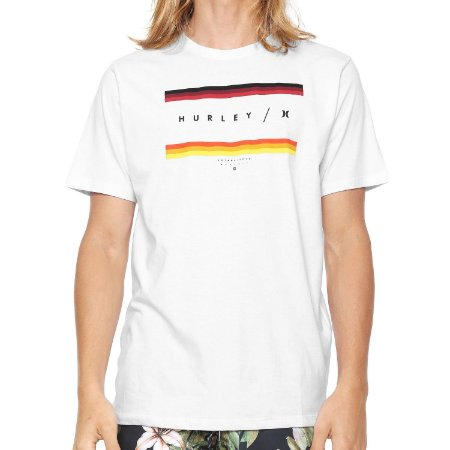 Camiseta Hurley Silk Grades Branca