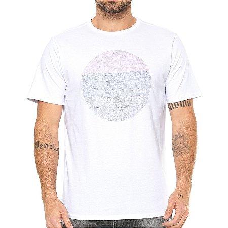 Camiseta Hurley Silk Circular Branca