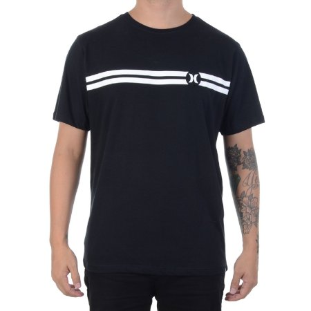 Camiseta Hurley Silk BP Preta