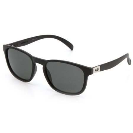Óculos de Sol HB Dingo Matte Black   Gray Polarized