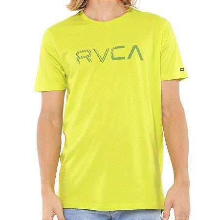 Camiseta RVCA Blinded Verde