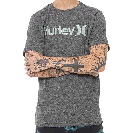 Camiseta Hurley Silk O&O Solid Cinza