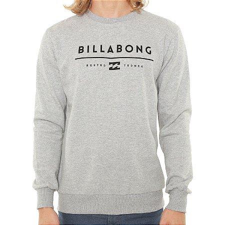 Moletom Billabong Originals Basic Cinza