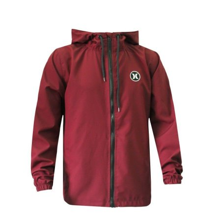 Jaqueta Hurley Windbreaker Strong Vinho