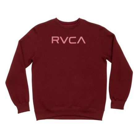 Moletom RVCA Big RVCA Vinho