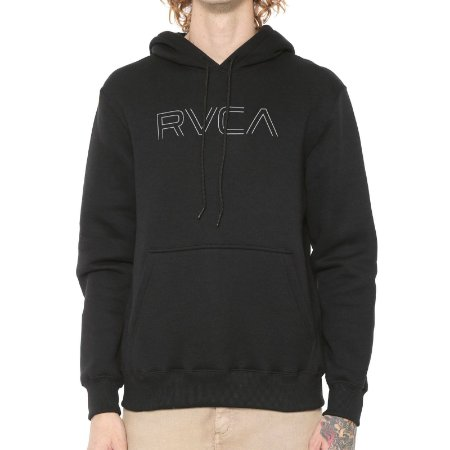 Moletom RVCA Big RVCA Preto