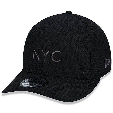 Boné New Era 950 Stretch Snapback NYC Preto