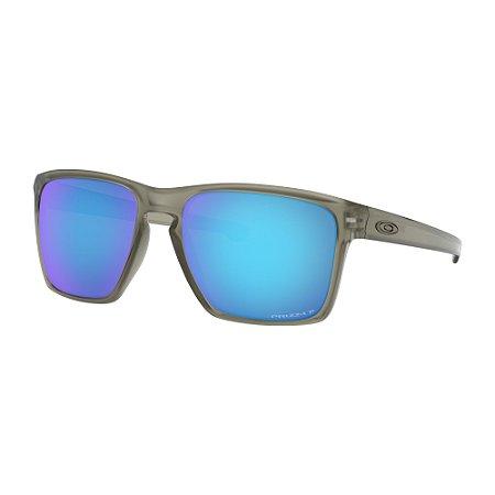 Óculos de Sol Oakley Sliver XL Matte Grey Ink W/ Prizm Sapphire Polarized