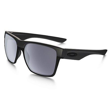 Óculos de Sol Oakley Two Face XL Steel W/ Grey