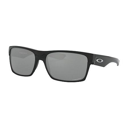 Óculos de Sol Oakley Two Face Polished Black W/ Prizm Black