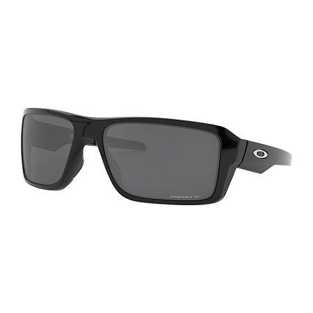 Óculos de Sol Oakley Double Edge Polished Black W/ Prizm Black Polarized