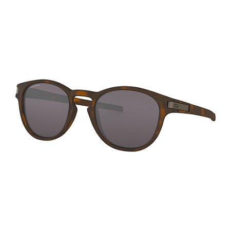 Óculos de Sol Oakley Latch Matte Brown Tortoise W/ Prizm Grey