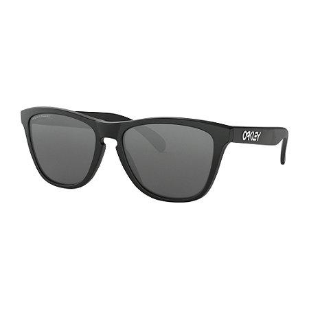 7e8a49472 Óculos de Sol Oakley Frogskins Matte Black W/ Black Iridium Polarized