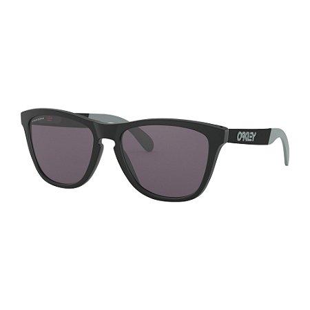 310dca5e5 Óculos de Sol Oakley Frogskins Mix Matte Black W/ Prizm Grey ...