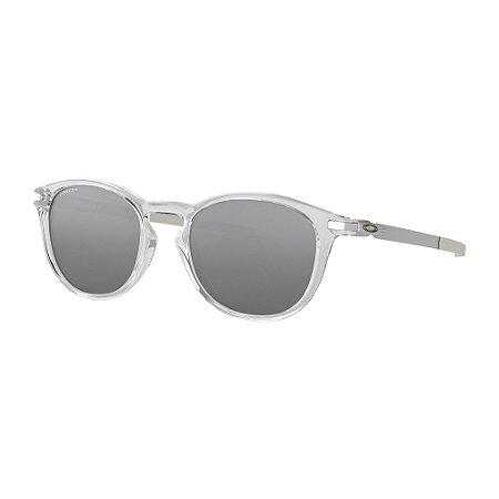 Óculos de Sol Oakley Pitchman R Polished Clear W/ Prizm Black