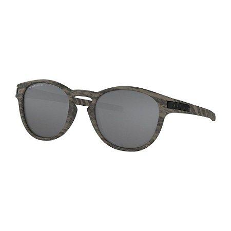 Óculos de Sol Oakley Latch Woodgrain W/ Prizm Black Polarized