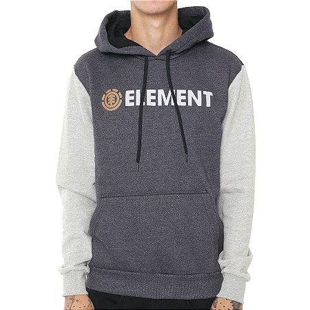 Moletom Element Duo Block Cinza