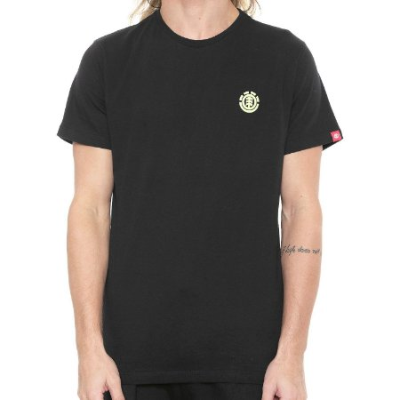 Camiseta Element Soft Crew Preta
